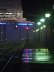 noaptea pe peron